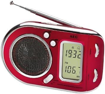 Electrolux We 4125 Radio portatil, Rojo