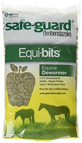 Intervet Safeguard Dewormer Pellets for Horses, 1.25-Pound