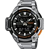 Casio Men's Collection Analogue/Digital Quartz Watch with Stainless Steel Bracelet SGW-450HD-1BER