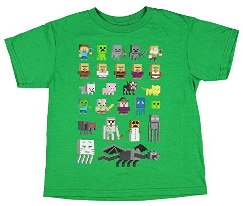 Minecraft Character Short Sleeved Tee product image