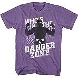 American Classics Macho Man 1980's WWF Heavyweight Wrestler Danger Zone Adult T-Shirt Tee