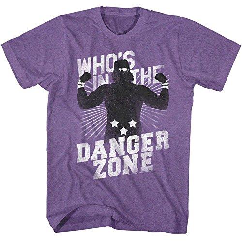American Classics Macho Man 1980's WWF Heavyweight Wrestler Danger Zone Adult T-Shirt Tee by American Classics
