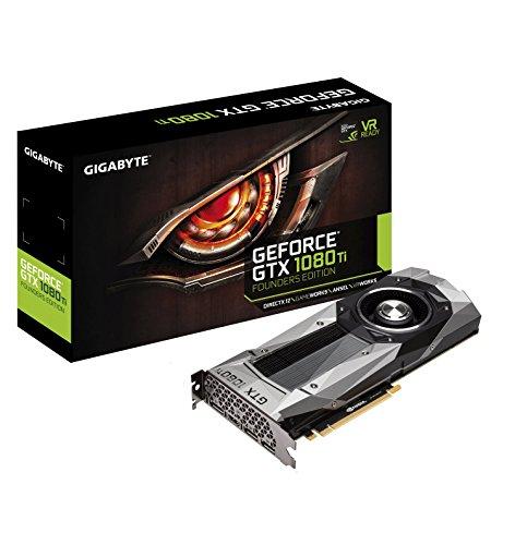 Gigabyte Geforce GTX 1080 Ti Founders Edition Video Card (GV-N108TD5X-B)