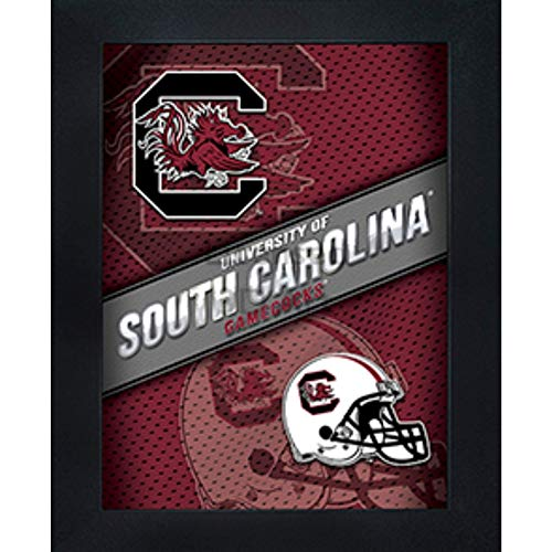 South Carolina Gamecocks 3D Poster Wall Art Decor Framed Print | 14.5x18.5 | USC Lenticular Posters & Pictures | Gifts for Guys & Girls College Dorm Room | NCAA Sports Team Fan Cocky Logo & Mascot