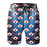 Nurses Hat With Love Heart Men's Quick Dry Summer Board Shorts XL