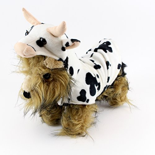 Cowdog Costume (Amazing Pet Products Realistic Cow Dog Halloween Costume (Large))