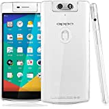OPPO N3 Back Cover, CHEETAH Machine Packed Transparent Case Back Cover for OPPO N3 - Glass Clear Transparent
