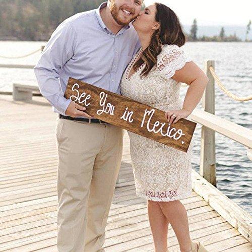 Destination Wedding Sign Engagement Sign Save The Date