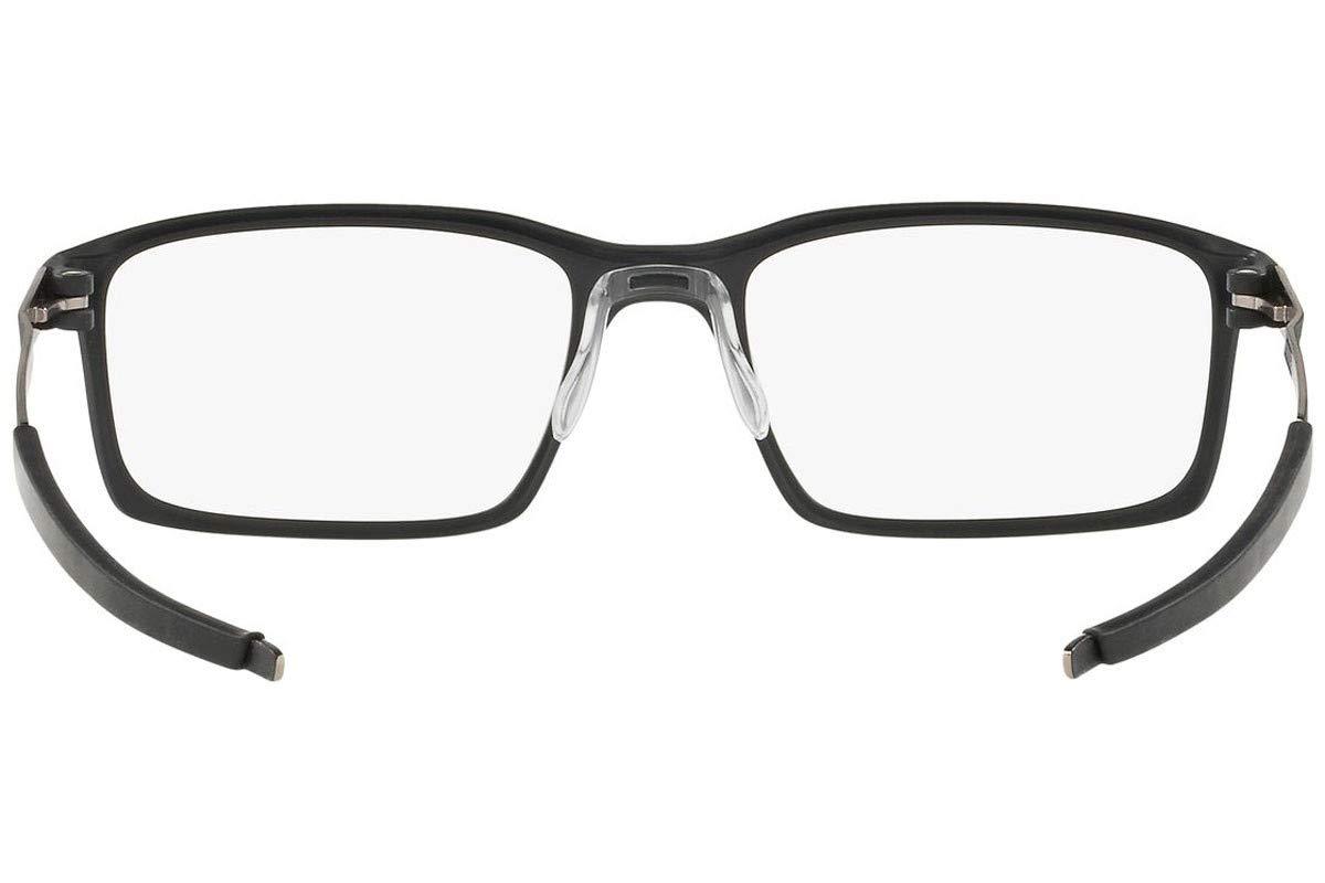 Oakley STEEL LINE S OX8097-809701 Eyeglass Frame SATIN BLACK w/Clear Demo Lens 52mm