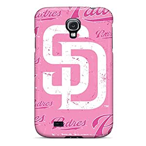 Perfect Hard Cell-phone Cases For Samsung Galaxy S4 (wXC10355Khto) Unique Design Trendy San Diego Padres Series