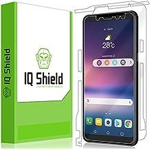 Samsung Galaxy A8 Screen Protector, IQ Shield LiQuidSkin Full Body Skin + Full Coverage Screen Protector for Samsung Galaxy A8 (2018) HD Clear Anti-Bubble Film