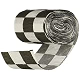 Beistle 55397 Flame Resistant Checkered Crepe Streamer, 21/2 by 30-Feet