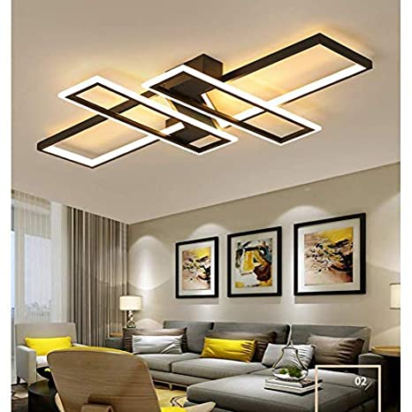 94W Modern LED Ceiling Light Living Room Lamp Design 4 ...