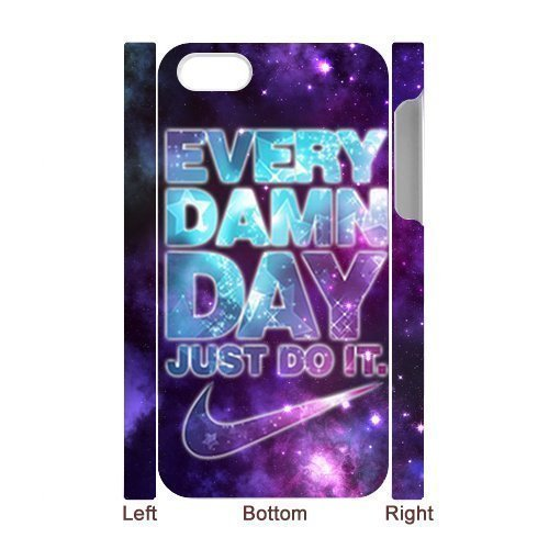 Apple iphone 5c hard 3D Case cool Just do it Brand logo Stylish Nike printed HD pattern unique logo protector bumper DIY Personalized portrait customized cover otter box skin back shell creative gift