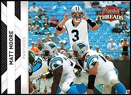 424854ffa 2010 Panini Threads #20 Matt Moore NM-MT Carolina Panthers Official NFL  Football Card