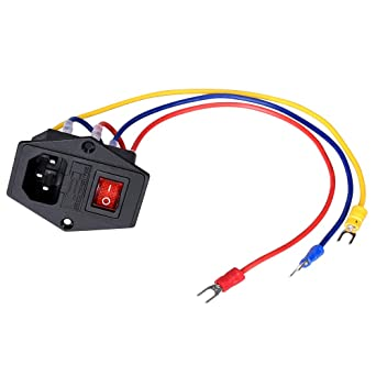 PoPprint - Interruptor basculante de encendido/apagado 15 A, 250 V ...
