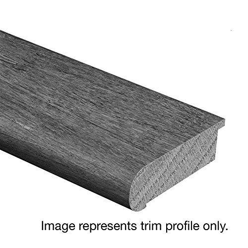 Jatoba Walnut Graphite 3/4 in. Thick x 2-3/4 in. Wide x 94 in. Length Hardwood Stair Nose Molding