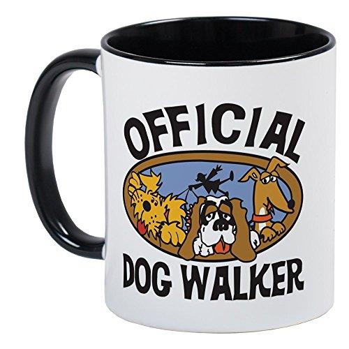 CafePress - Official Dog Walker Mug - Unique Coffee Mug, Coffee ()