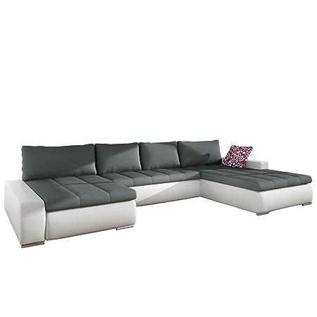 Grosses Design Ecksofa Caro Grand Elegante U Form Couch Eckcouch