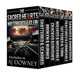 The Sacred Hearts MC Boxed Set (The Sacred Hearts Motorcycle Club) by [Downey, A.J.]