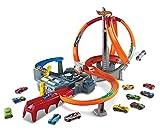 hot wheels dinosaur track - Hot Wheels Spin Storm Track Set [Amazon Exclusive]