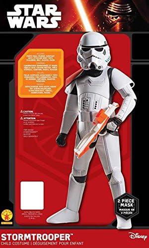 Rubie's offizielles Disney Star Wars Super-Deluxe-Sturmtruppen-Kostüm, Kinder-Kostüm- Größe S