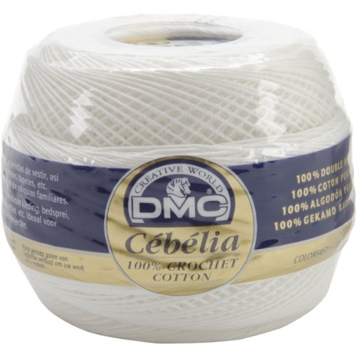 DMC Cebelia Crochet Cotton Size 20, White