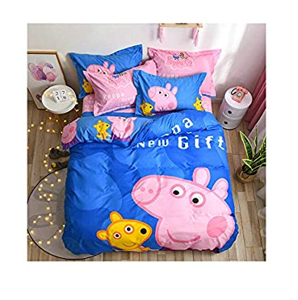 Baby Crib Bedding set optional 2//4pc pillow /& duvet cover// Quilt 70 x 80 cotton
