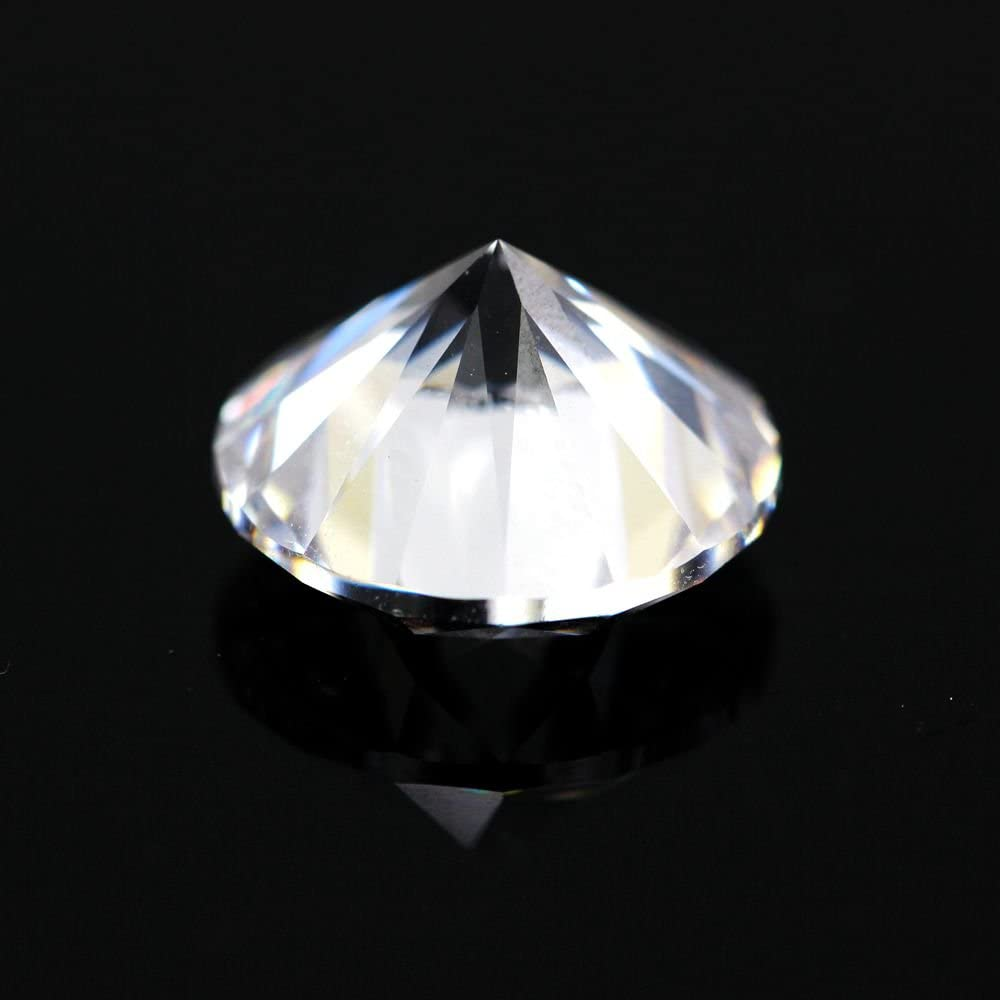 500pcs AAAAA CZ Stone 2.6mm White Round Cut Cubic Zirconia Synthetic Gems Stone