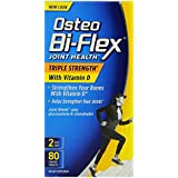 Osteo Bi-Flex Triple Strength with Vitamin D3 2000 iu, 80 Count (Pack of 2)