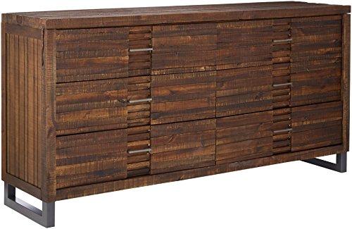 Acme Furniture Andria 21295 Dresser, Reclaimed Oak, One Size