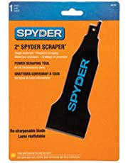 SM PRODUCTS 00131 Spyder Scraper 00138 Scraping Tool Attachment for Reciprocating Saws, Black, 2-Inch