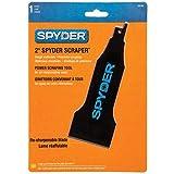 Spyder Scraper 00138 Scraping Tool Attachment for Reciprocating Saws, Black, 2-Inch