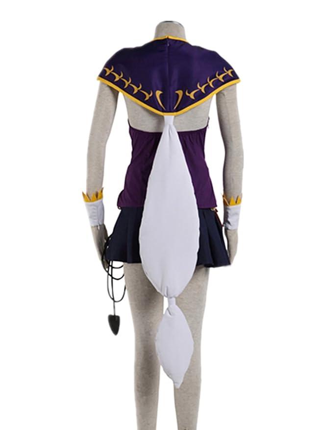 e3cf8001a667 Amazon.com  Love Anime Magic Shooter Cosplay Costume-Lucy 8Pcs Set ...