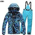 FidgetFidget Pants Snowboard Warm Waterpoof Outdoor Parka @ Men's Cotton Ski Suit Jacket Coat