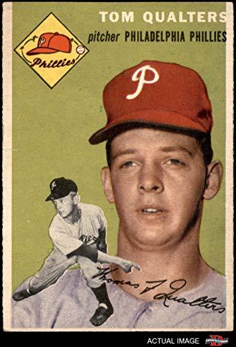 174 Tom - 1954 Topps # 174 Tom Qualters Philadelphia Phillies (Baseball Card) Dean's Cards 4 - VG/EX Phillies