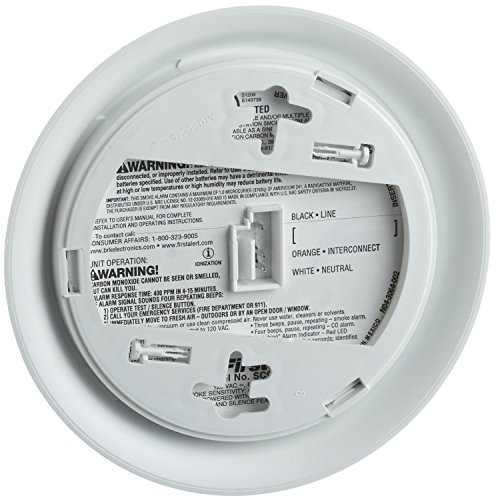 029054513069 - First Alert SC9120B Hardwire Combination Smoke/Carbon Monoxide Alarm with Battery Backup carousel main 1