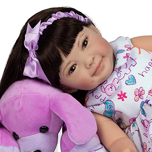 Middleton Toddler Doll Lee - Paradise Galleries Reborn Toddler Doll - Children's Day, Full Vinyl Limbs, 16 inches, GentleTouch Vinyl, Weighted Body, 5-Piece Doll Reborn Doll Set