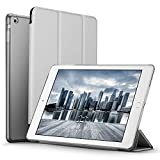 iPad Mini 2 Case, ESR iPad Mini Smart Case Cover [Synthetic Leather] Translucent Frosted Back Magnetic Cover with Sleep/Wake Function [Light Weight] for iPad Mini 1/2/3 (Silver Grey)