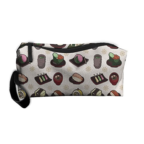 Bing4Bing Japanese Food Printing Portable Receive Bag Sewing Kit Cartridge Bag Cosmetic Bag Oxford Fabric (Kitty Louis Vuitton Purse Hello)