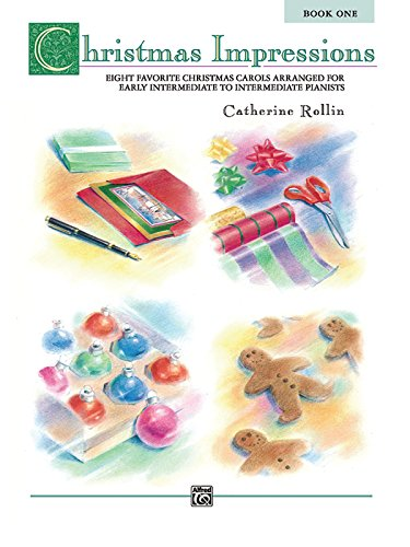 Book Impressions (Christmas Impressions, Bk 1: Eight Favorite Christmas Carols Arranged for Early Intermediate to Intermediate Pianists)