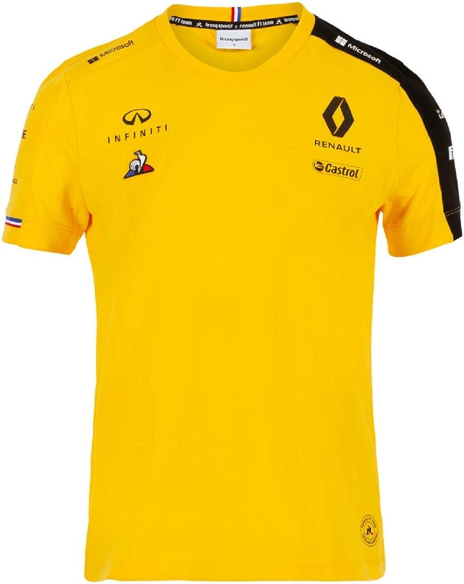 Renault F1 2019 Team Womens T-Shirt Yellow