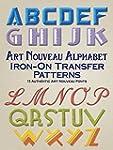 Art Nouveau Alphabet Iron-On Transfer...