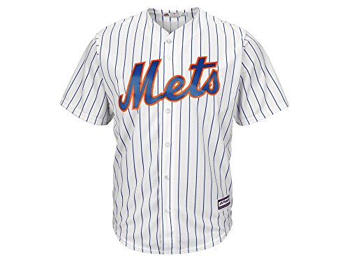 picture of New York Mets Majestic MLB Men's Blank Replica CB Jersey