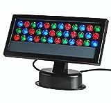 LUMINTURS 36W LED RGB Color Change Light DMX control Flood Project Outdoor W...