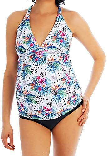 Oceanlily Cross Back Maternity Women S Swimsuit Tankini Top Floral S Buy Online At Best Price In Uae Amazon Ae
