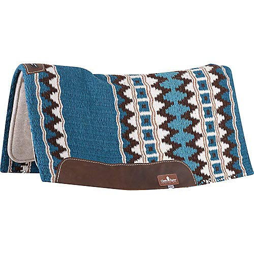 CLASSIC ESP Contour Wool 32x34x3/4in Pad Teal
