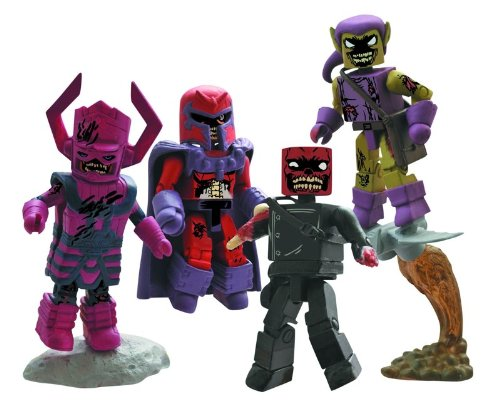 Diamond Select Toys Marvel Minimates: Zombies Villains Box Set Action Figure