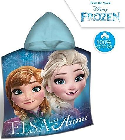 Disney Frozen Niños Poncho Baño Campana Toalla de ducha toalla de playa