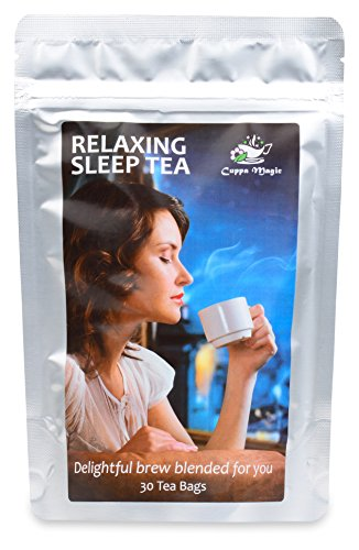 INSOMNIA, STRESS AND ANXIETY AID - RELAX WITH HERBAL SLEEP TEA - 30 DAY
